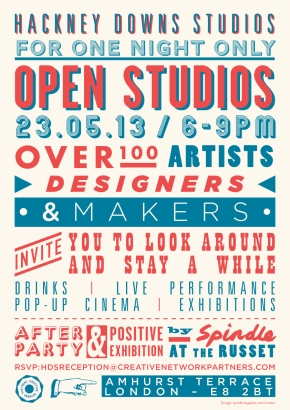 HDS Open Studios Flyer WEB
